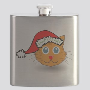Sandy Claws Flask