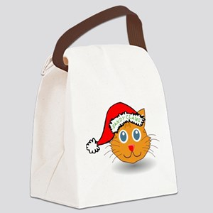 Sandy Claws Canvas Lunch Bag
