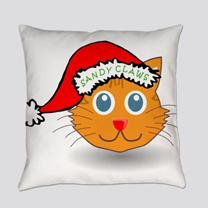 Sandy Claws Everyday Pillow