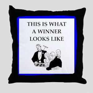 roulette Throw Pillow