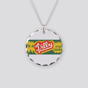 Dilly Soda 3 Necklace Circle Charm