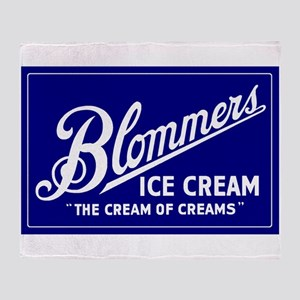 Blommers Ice Cream 21 Throw Blanket