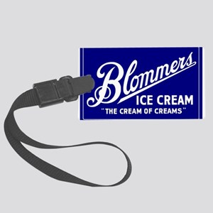 Blommers Ice Cream 21 Large Luggage Tag
