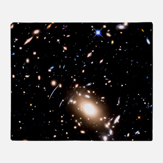 Abell S1063 Galaxy Cluster Throw Blanket