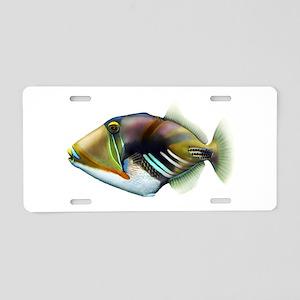 REEF Aluminum License Plate