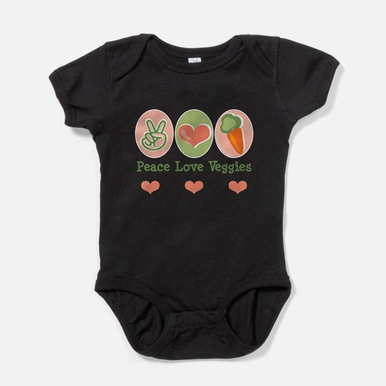 Cute Healthy food Baby Bodysuit