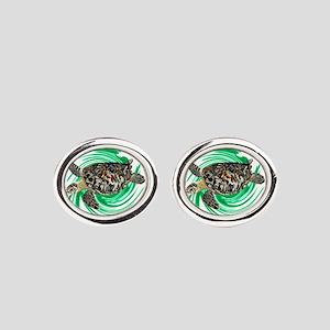 MARINER Oval Cufflinks