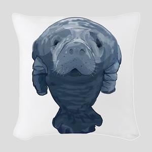 CURIOUS Woven Throw Pillow