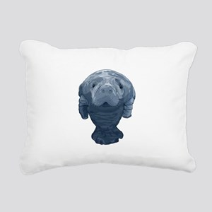 CURIOUS Rectangular Canvas Pillow