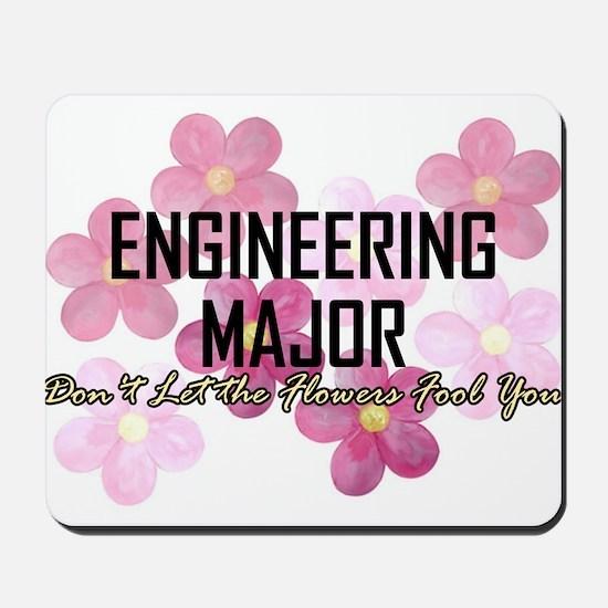 Engineer's Flower Power Mousepad