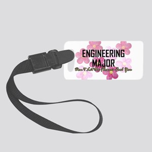 Engineer's Flower Power Luggage Tag