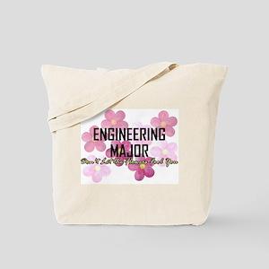 Engineer's Flower Power Tote Bag