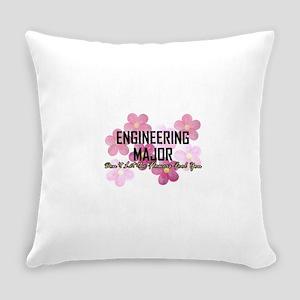 Engineer's Flower Power Everyday Pillow
