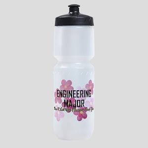 Engineer's Flower Power Sports Bottle