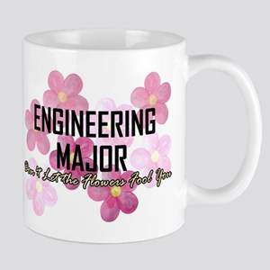 Engineer's Flower Power Mugs