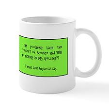 Physics Says It Mugs