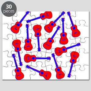 Red Ukuleles Puzzle