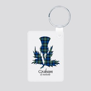 Thistle - Graham of Menteith Aluminum Photo Keycha
