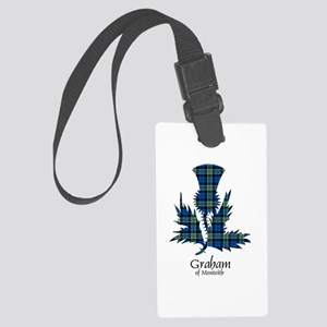 Thistle - Graham of Menteith Large Luggage Tag
