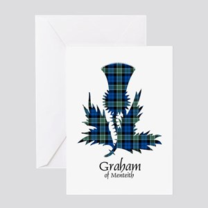 Thistle - Graham of Menteith Greeting Card