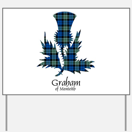 Thistle - Graham of Menteith Yard Sign