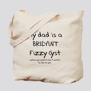 Dad Physicist Tote Bag
