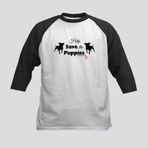 Help Save the Puppies Baseball Jersey