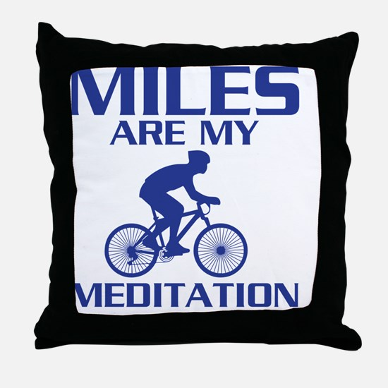 Unique Cycling Throw Pillow