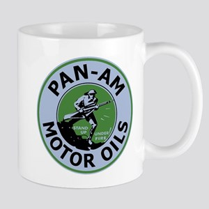 Pan Am Motor Oil 3 Mugs