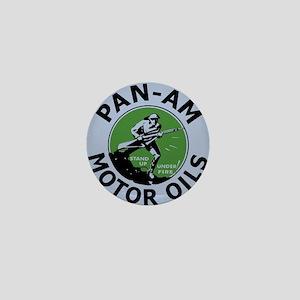 Pan Am Motor Oil 3 Mini Button