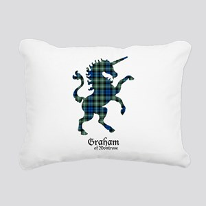 Unicorn-GrahamMontrose Rectangular Canvas Pillow