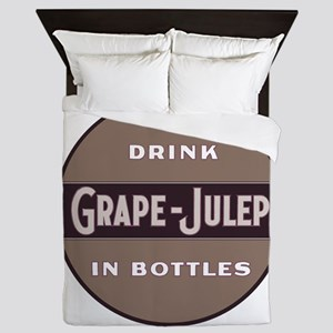 Grape Julep Soda 11 Queen Duvet