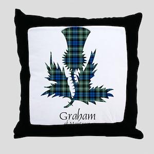 Thistle - Graham of Montrose Throw Pillow