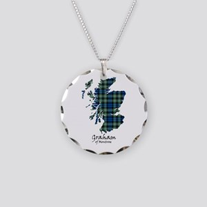 Map - Graham of Montrose Necklace Circle Charm