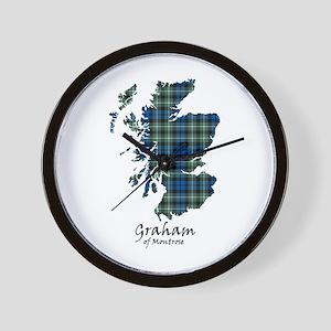 Map - Graham of Montrose Wall Clock