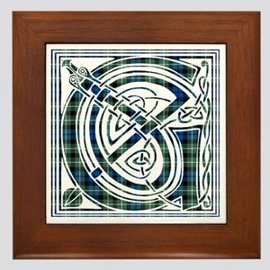 Monogram - Graham of Montrose Framed Tile