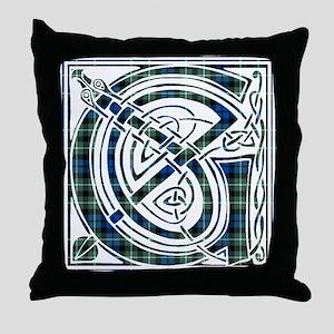 Monogram - Graham of Montrose Throw Pillow