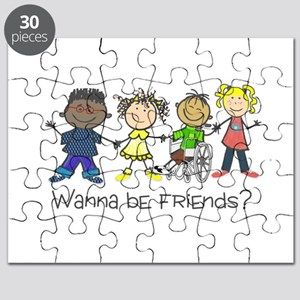 Wanna Be Friends? Puzzle