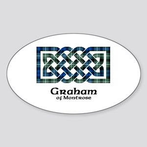 Knot - Graham of Montrose Sticker (Oval)