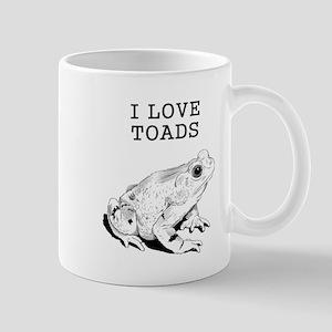 I Love Toads Mugs