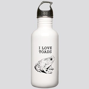 I Love Toads Stainless Water Bottle 1.0L