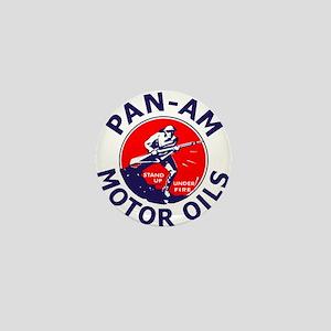 Pan Am Motor Oil 1 Mini Button