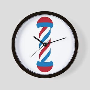 barber pole Wall Clock