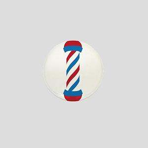 barber pole Mini Button