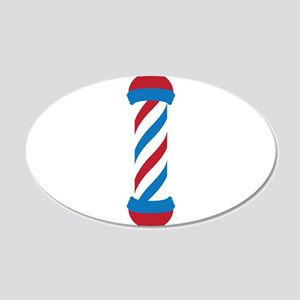 barber pole Wall Decal
