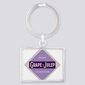 Grape Julep Soda 22 Keychains