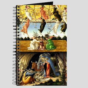 Mystical Nativity Botticelli Journal