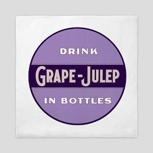 Grape Julep Soda 12 Queen Duvet