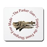 Parker Round W Text Mousepad