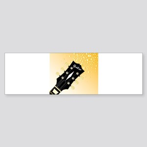 Headstock Fizz Bumper Sticker